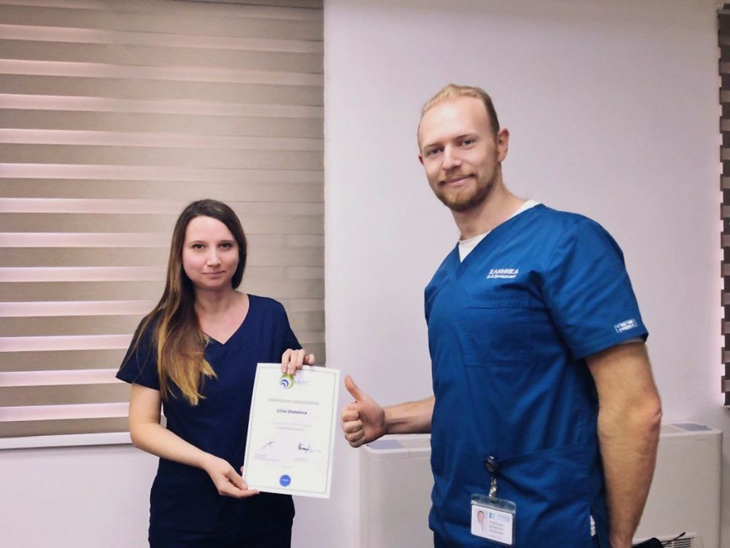 Another International Embryology Certificate